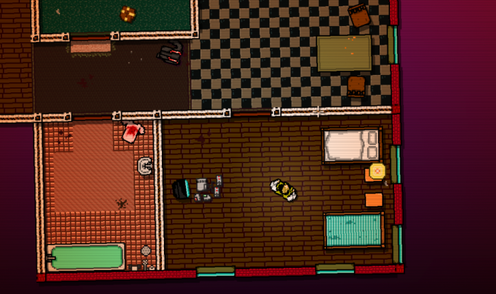 hotline miami apartment