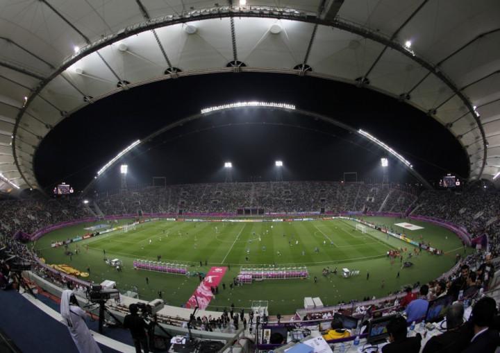 The Khalifa stadium in Qatar (Reuters)