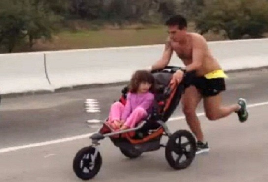 Iram Leon pushes Kiana in race