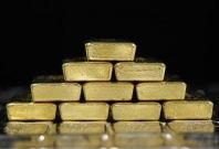 Gold and silver bars are pictured at the Austrian Gold and Silver Separating Plant \'Oegussa\' in Vienna August 26, 2011.