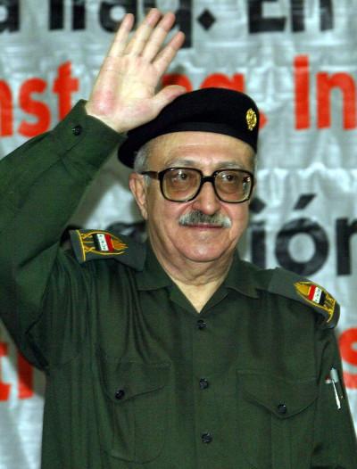 Tariq Aziz, former Iraqi deputy prime minister