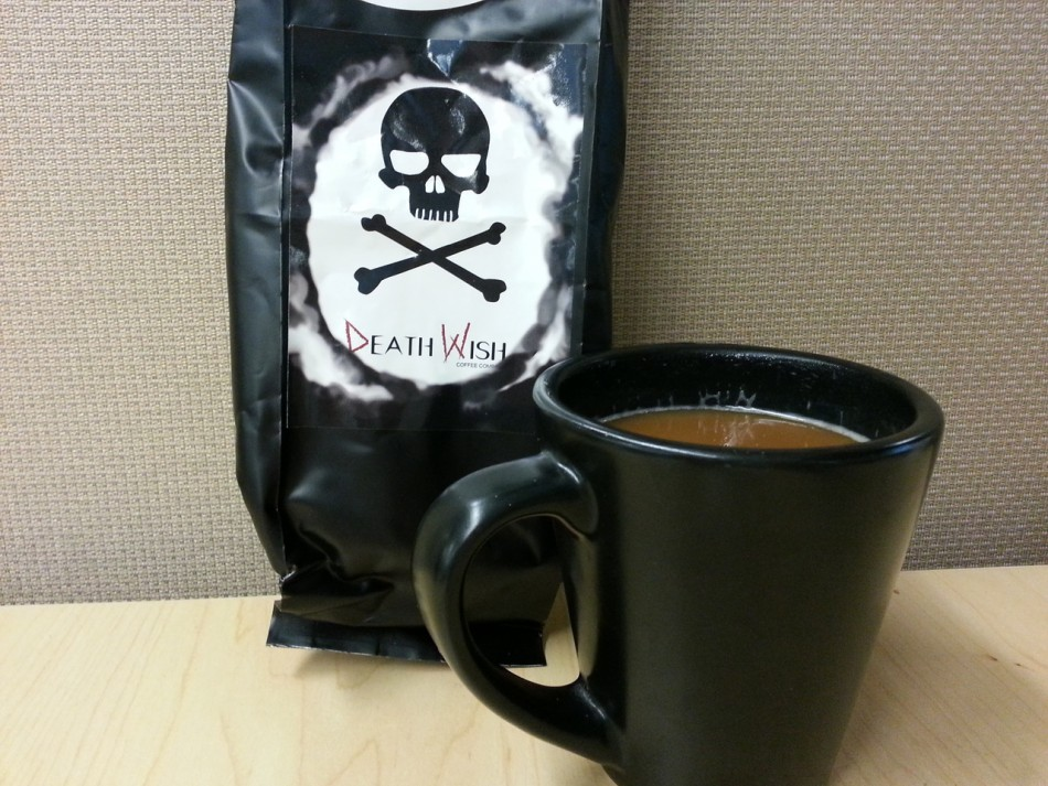 Death Wish Coffee Carries Own Health Warning