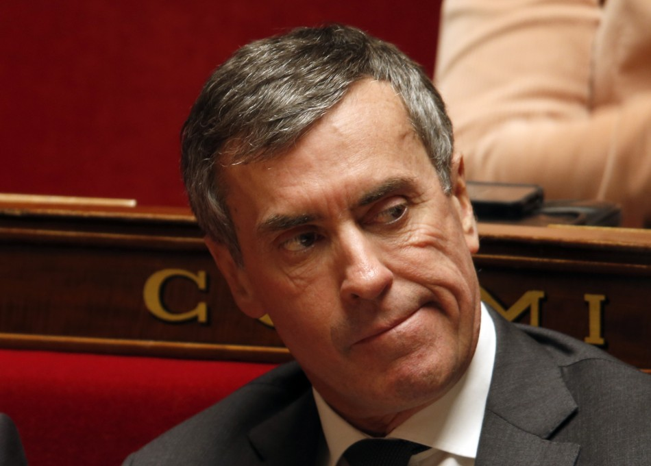 France's Junior Minister for Budget Jerome Cahuzac attends the questions to the government session at the National Assembly