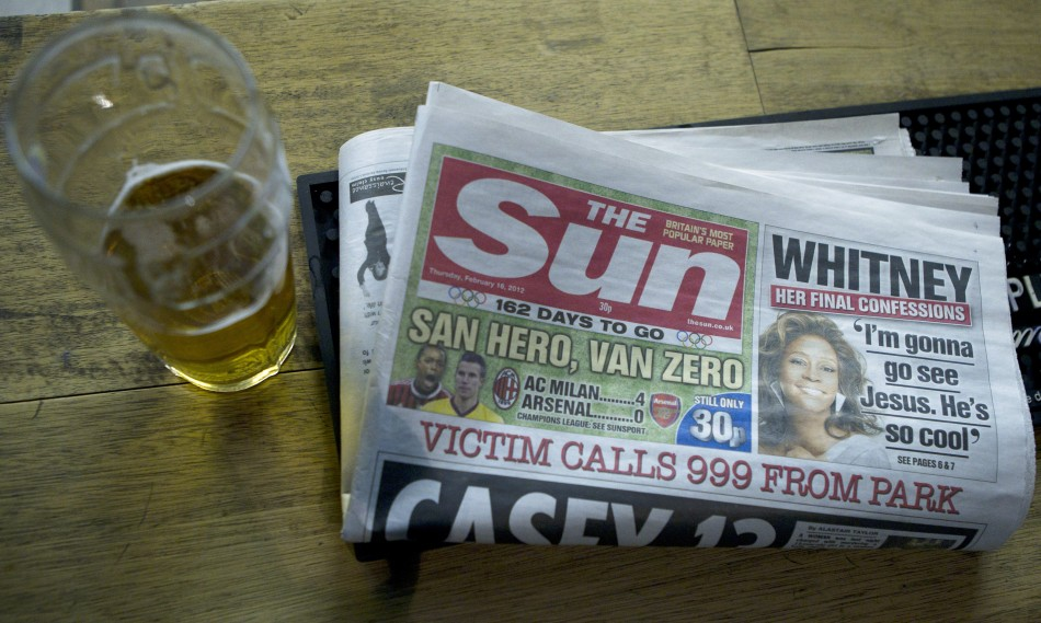 Geoff Webster was appointed joint deputy editor of The Sun in 2009 (Reuters)