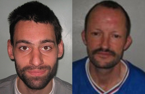 Matthew Tinling (L) and Richard Hamilton  were staying together in a homeless shelter