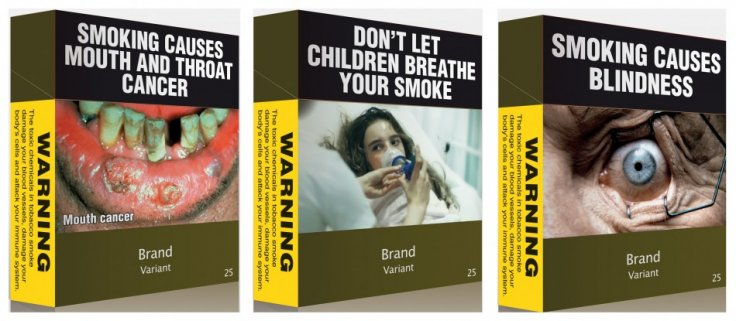 Proposed plain packaging of cigarettes in Australia