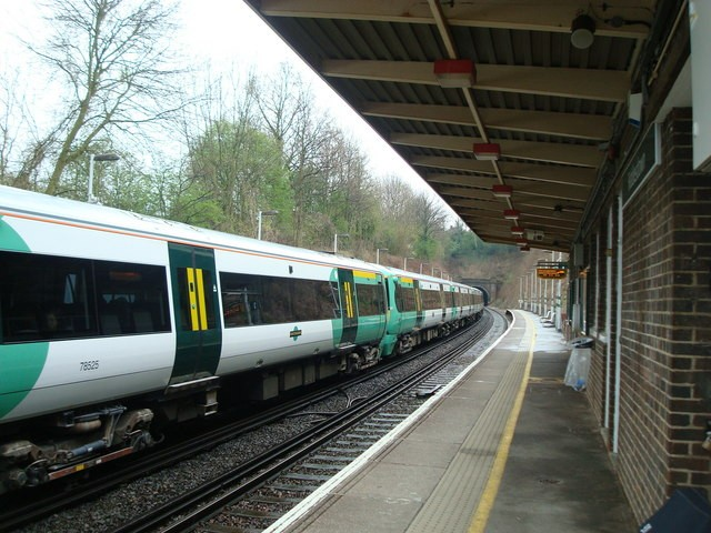 Riddlesdown train station