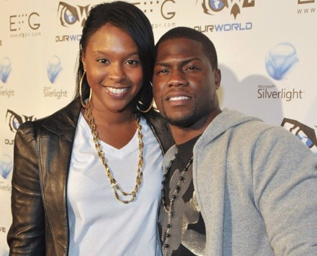 Kevin Hart and Torrei