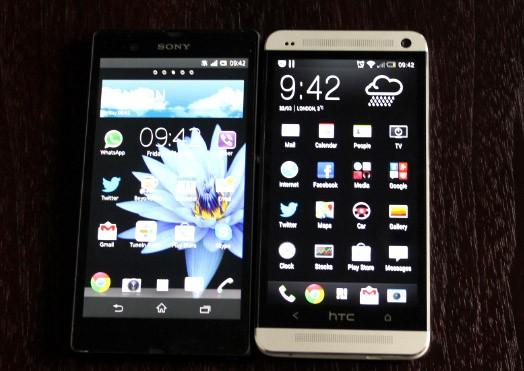 HTC One Versus Sony Xperia Z