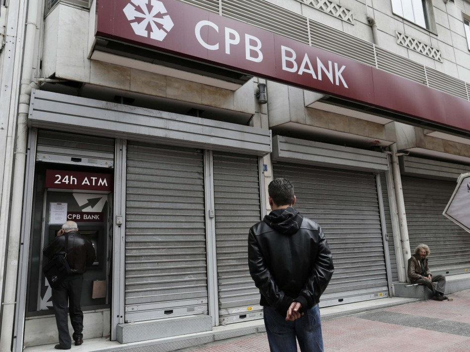 Cyprus Popular Bank branch in Athens