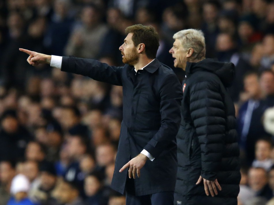 Woodcock feels Wenger can pip AVB