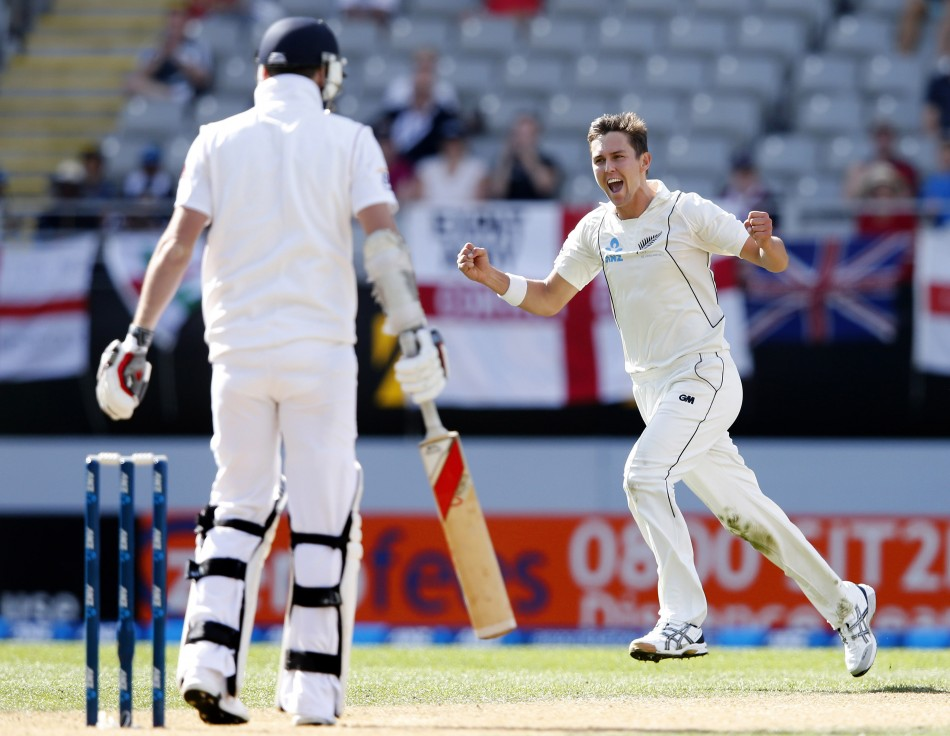 Trent Boult ran through the England batting order