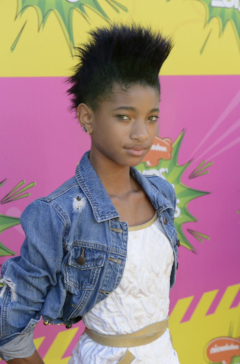 Willow Smith attends the 2013 Kids' Choice Awards