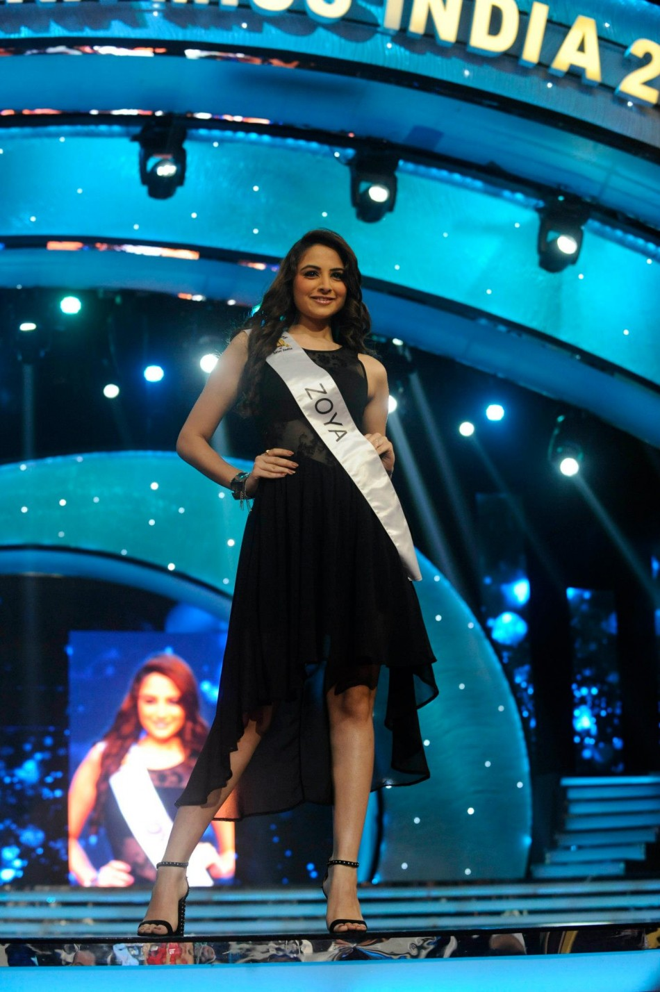 Zoya Afroz was the second runner-up