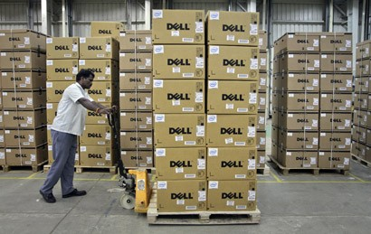 Dell Bidding War Begins