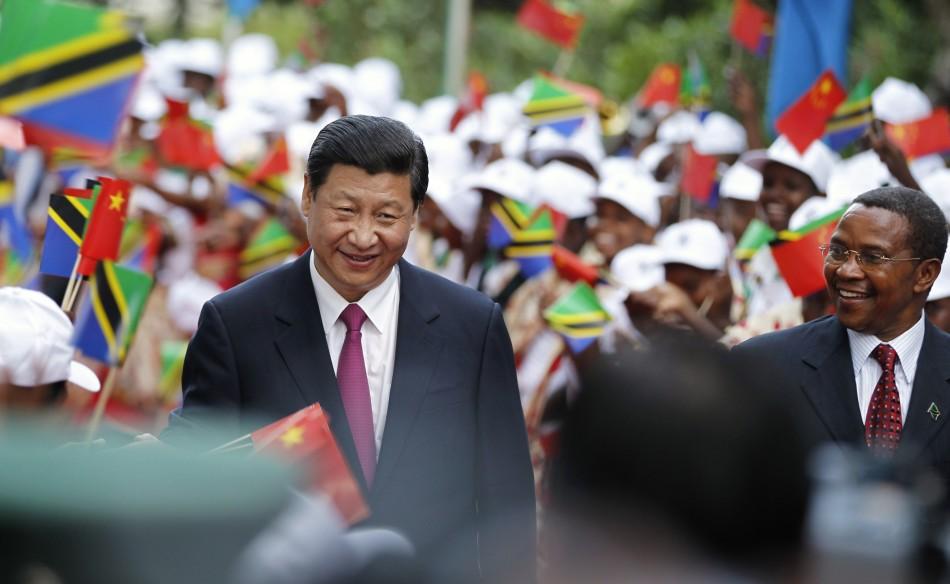 Xi Jinping Tanzania