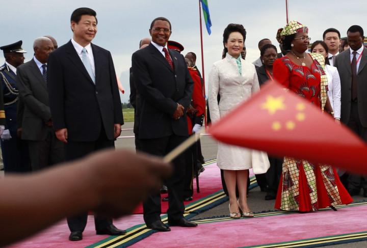Peng Liyuan Tanzania