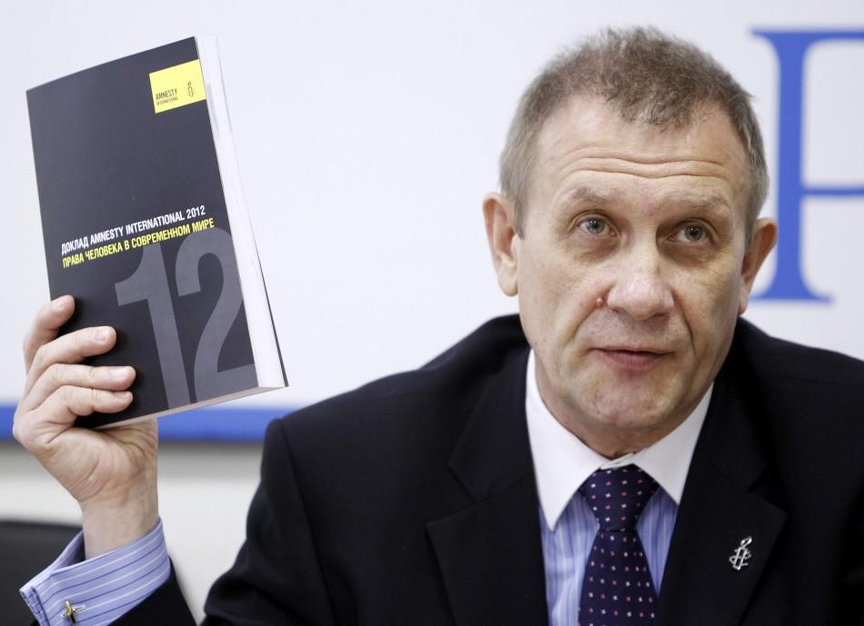 Sergei Nikitin, Director of Amnesty International Representative Office in Russia