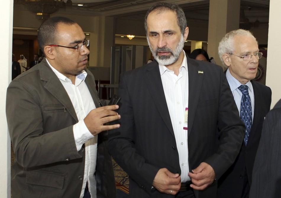 Syria at Arab League summit in Doha