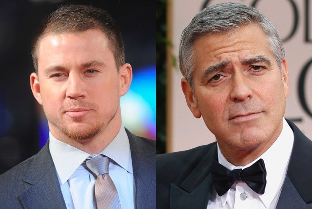 Channing Tatum and George Clooney