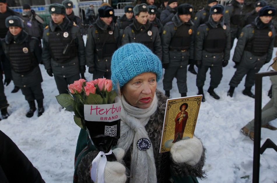 Putin protest