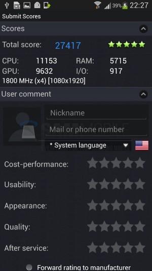 Samsung Galaxy S4: Exynos 5 Octa Processor Beats Snapdragon 600 in AnTuTu Benchmark