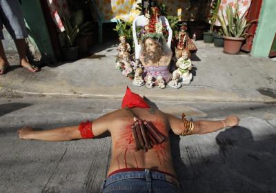 Filipino Crucifixion Rituals