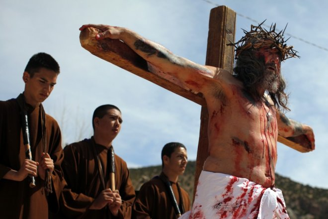 Good Friday 2013: Crucifixion penance ritual