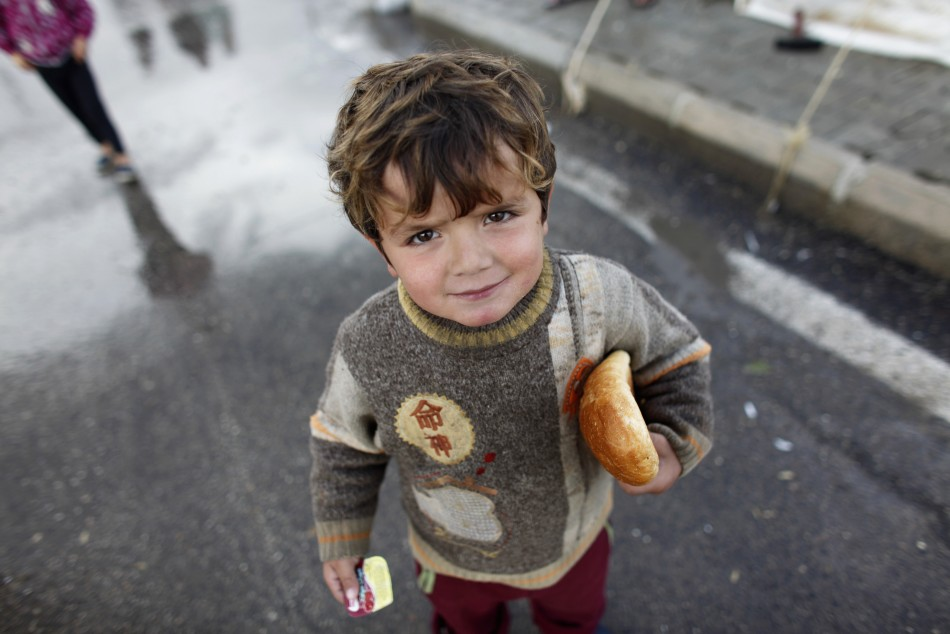Syrian Child [For Illustrative Purposes]