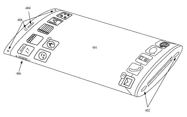 New Apple iPhone patent