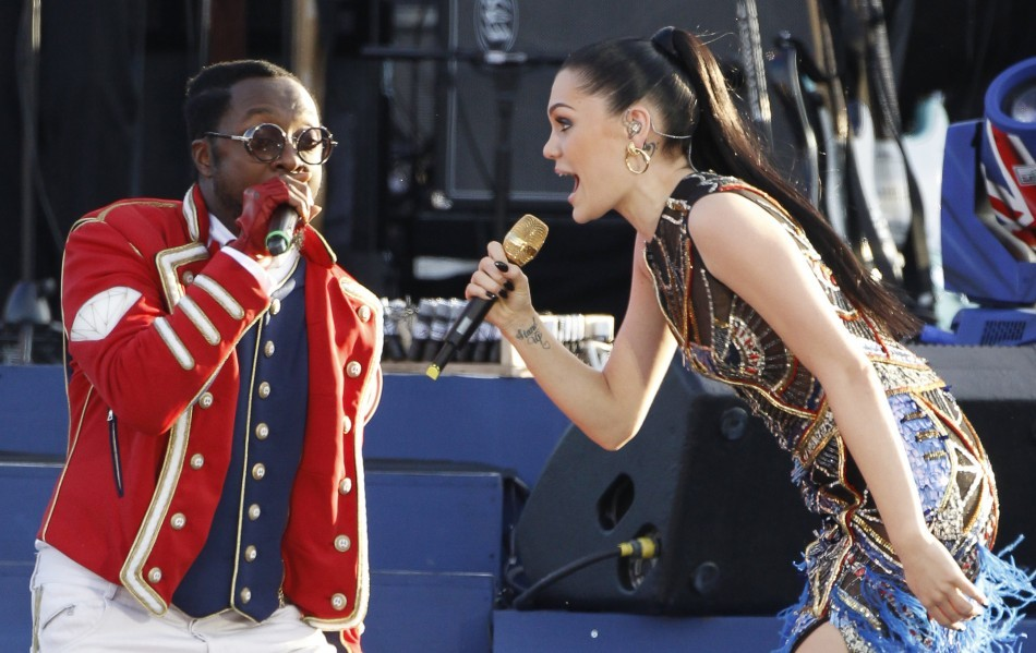 Jessie J and Will.i.am were not seeing eye to eye after their spat on the first episode of The Voice