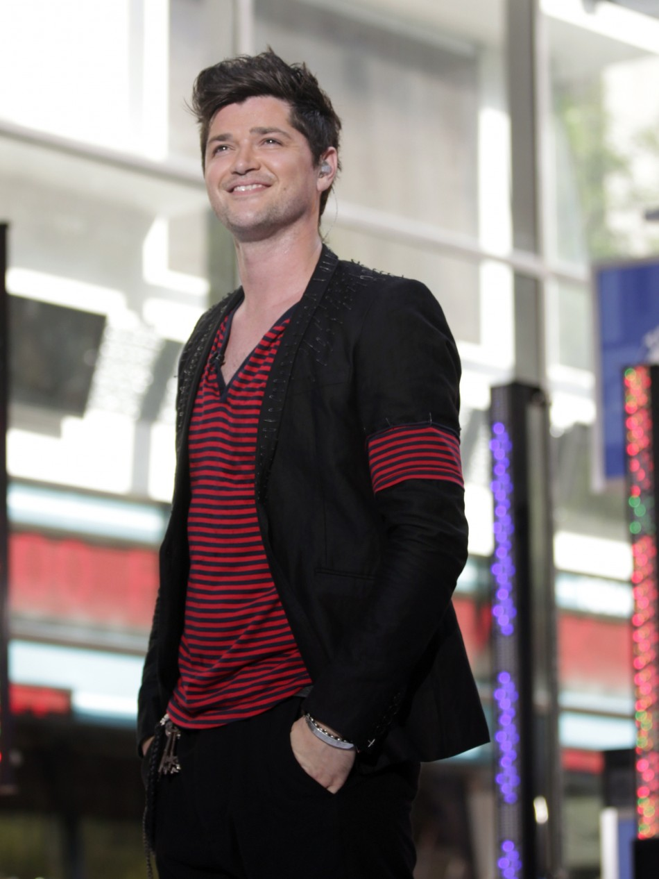 """Voice judge Danny O'Donoghue  thinks he has a """"face like a foot"""""""