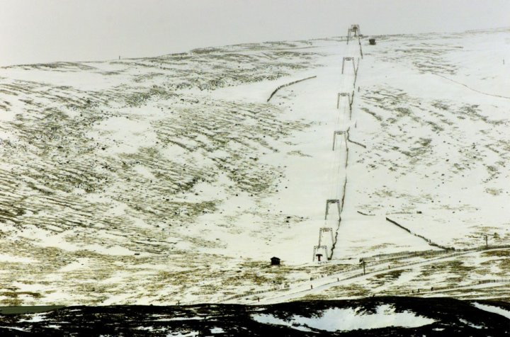 Scottish ski slope