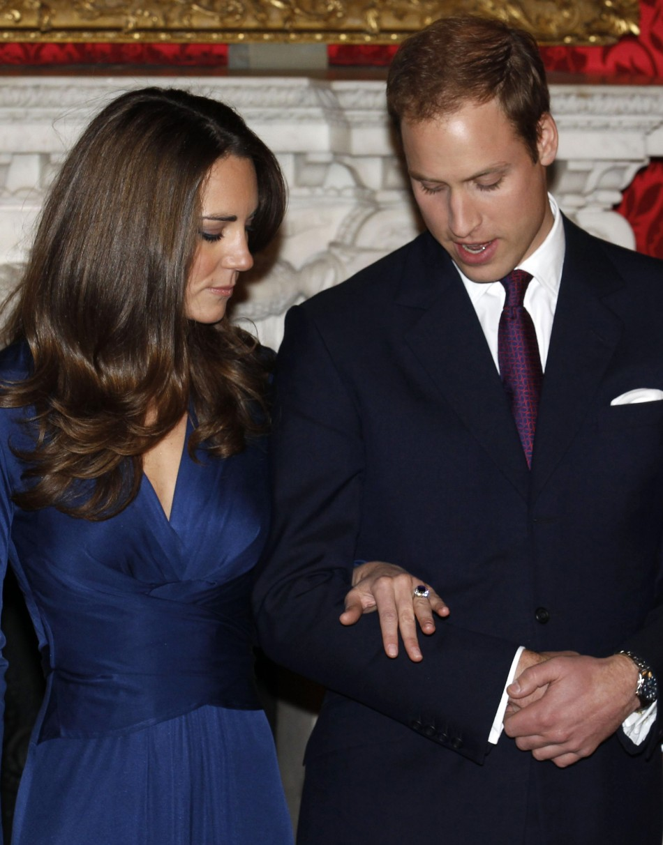Kate Middleton in classic Issa Dress