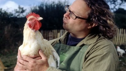 Hugh Fearnley-Whittingstall, devised a placenta recipe with mother Rosie Clear for a party to celebrate the birth of her daughter (Channel 4)