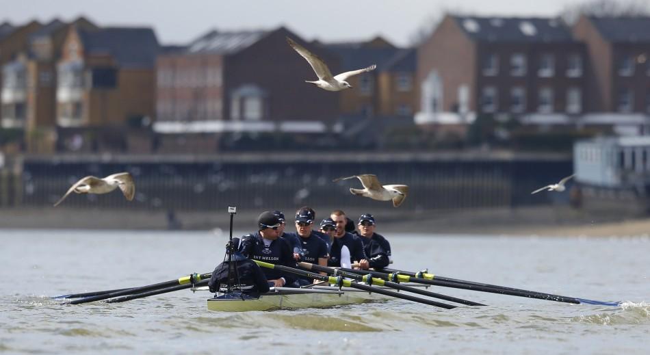 The Oxford crew