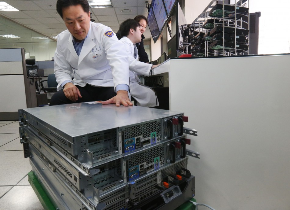 South Korea cyber war defence
