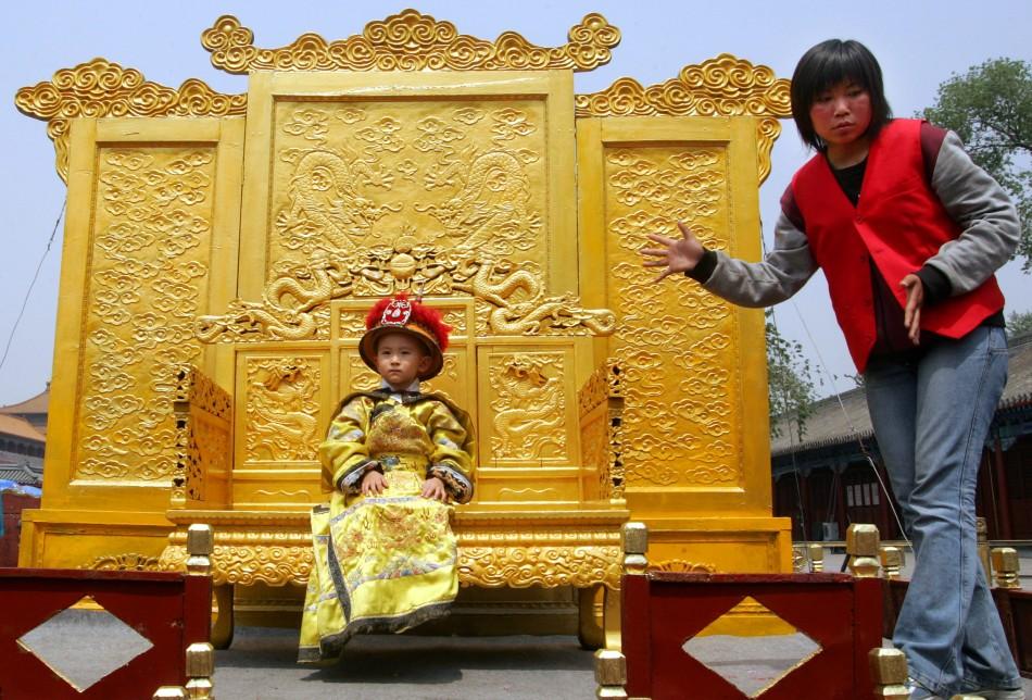 Chinese child spending