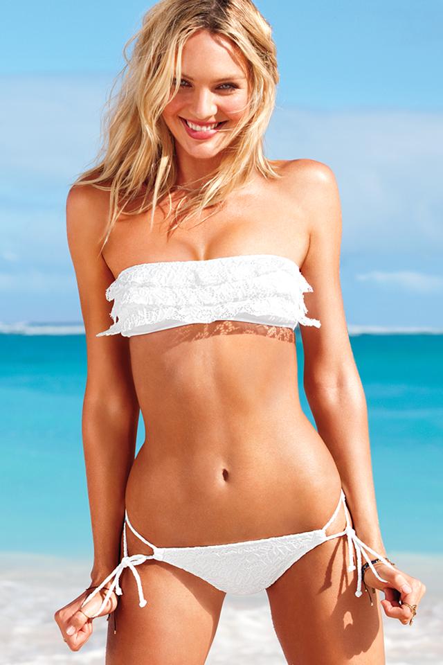 Candice Swanepoel Flaunts Hot Bikini Body for Victoria's Secret Summer Campaign