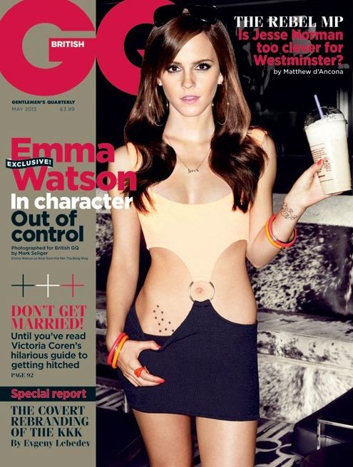 Emma Watson covers GQ
