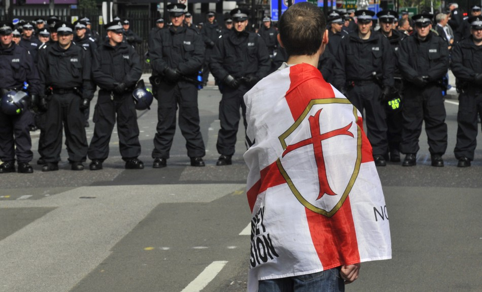 EDL draw police and noisy counter-protests wherever they go