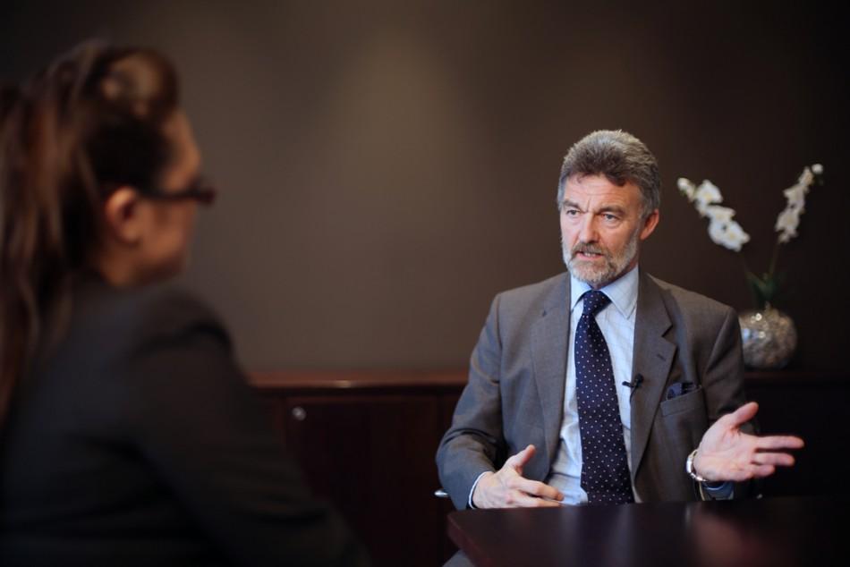 Christopher Hall, Chairman, Stratex (Photo: IBTimes UK)