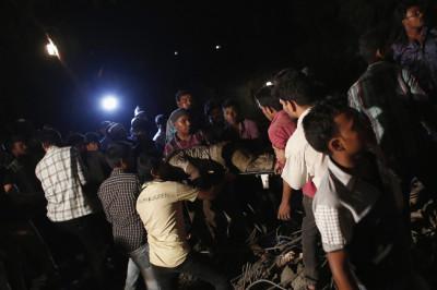 Building Collapse in Mumbai, India