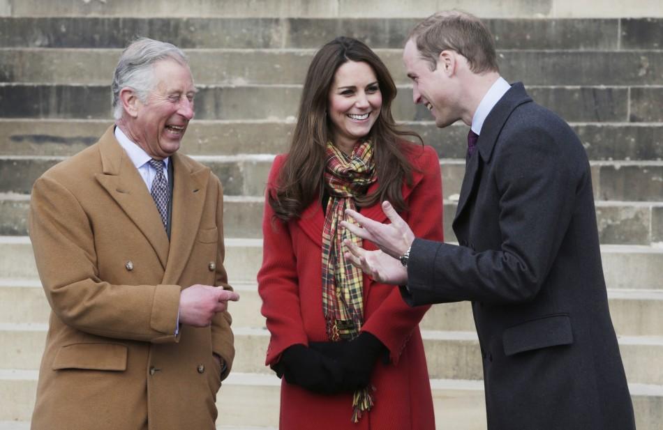 Kate, William, Charles