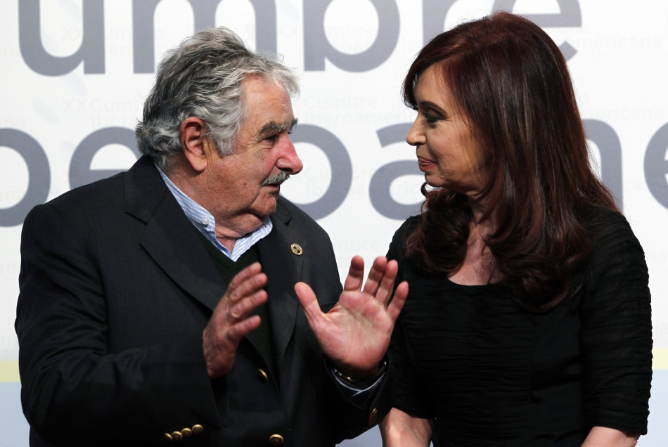 """""""It's all lies!"""" Mujica and Fernandez together, previously"""