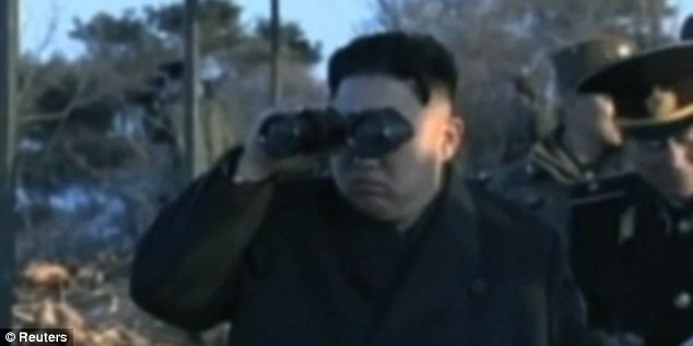 Kim keeps lookout