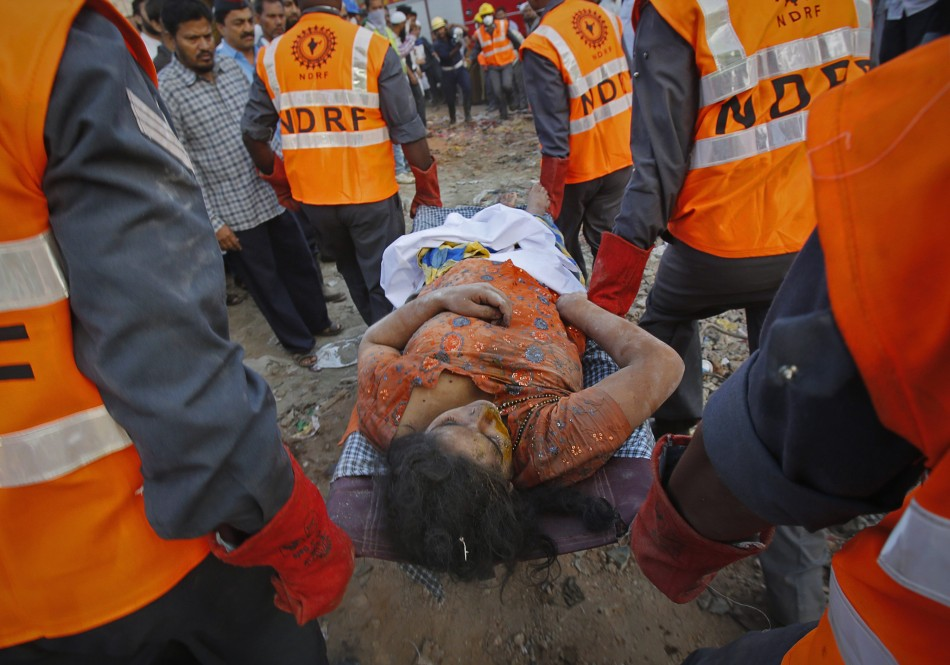 Thane building collapse death toll