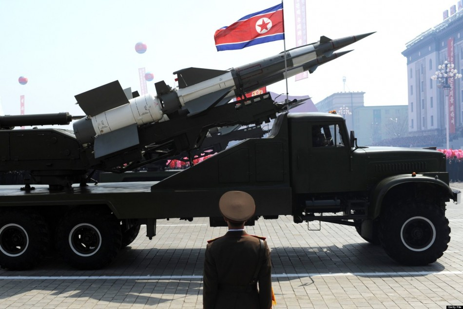 North Korean missile