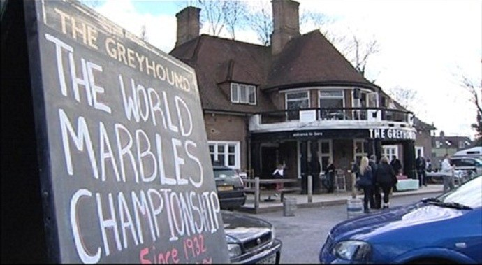 Greyhound pub: Scene of victory