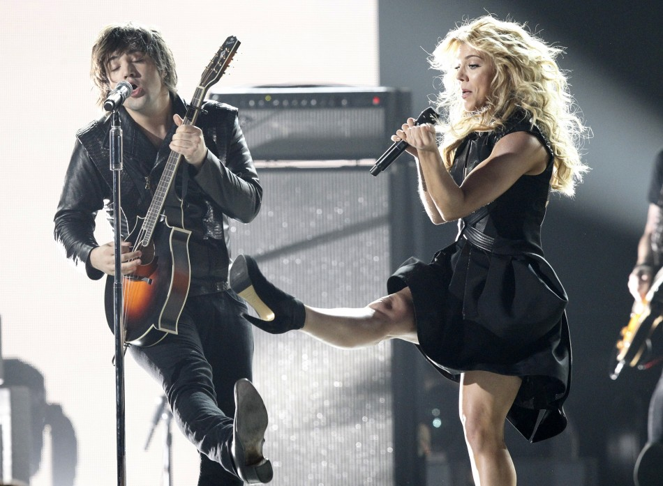 The Band Perry performs Done during the 48th ACM Awards in Las Vegas April 7, 2013.